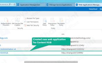 sharepoint 2013 create content type hub