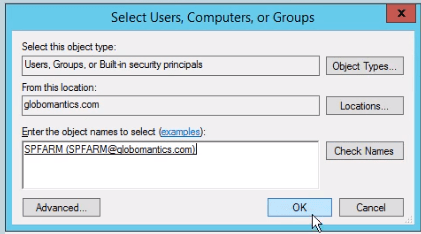 sharepoint 2016 user profile service configuration