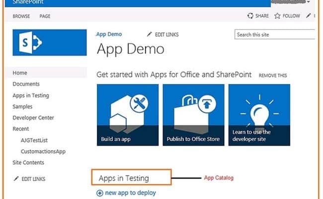 SharePoint 2013 Developer Site Template overview