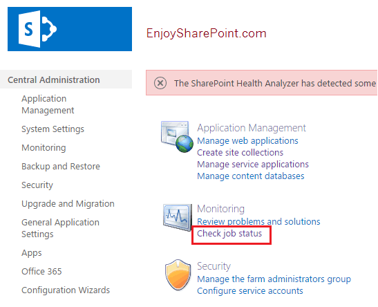 sharepoint powershell get timer job history