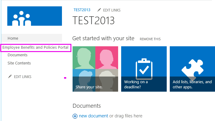 sharepoint 2013 hide left navigation permission based.png