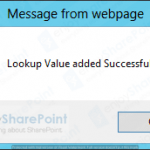 sharepoint 2013 javascript insert item with lookup field Tutorial