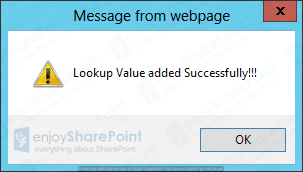 sharepoint 2013 javascript insert item with lookup field Tutorial