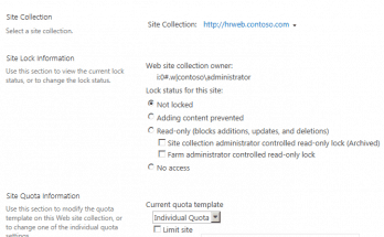 sharepoint 2013 make site collection read only