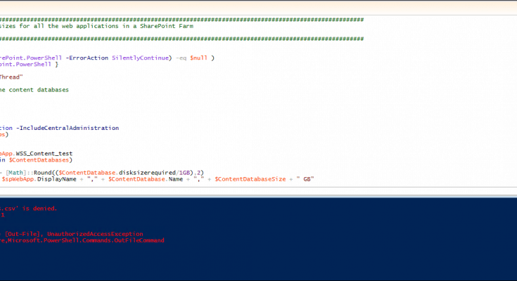 sharepoint-2013-powershell-content-database-size