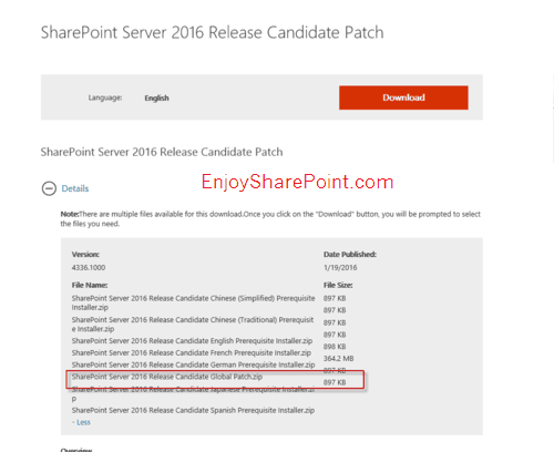 SharePoint Server 2016 Beta 2 and SharePoint 2016 RC Single Server Farm Technical Preview Deployment Guide Part-3