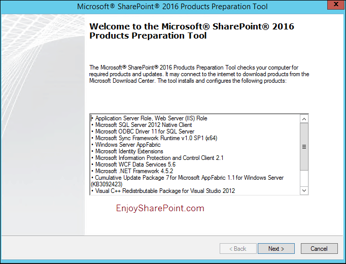 sharepoint 2016 installation step by step pdf