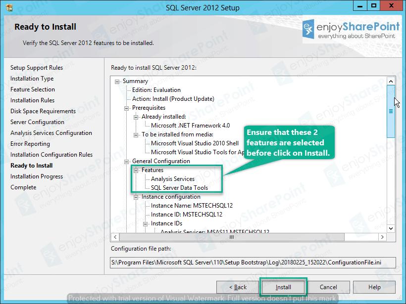 configure analysis services sql server 2012