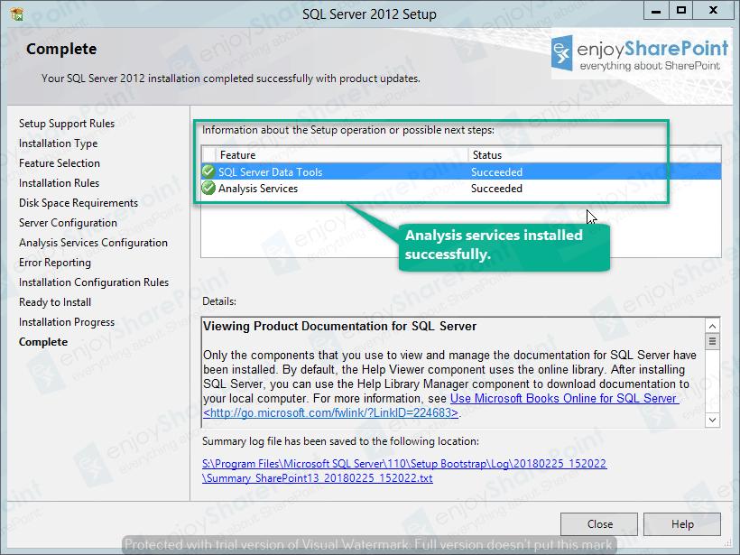 sql server analysis services configuration server mode