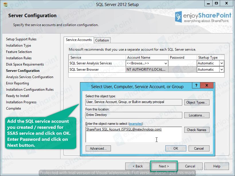 sql server 2014 analysis services configuration server mode