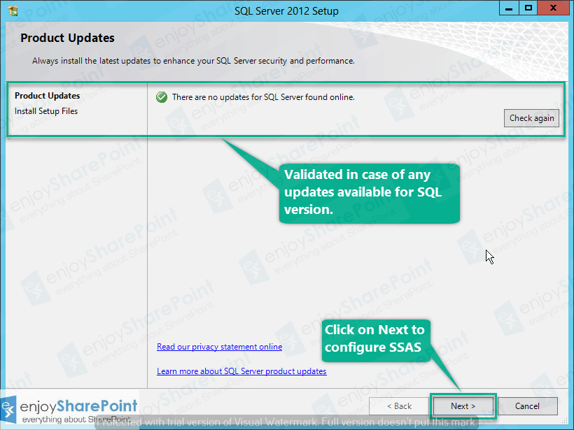 setup sql server analysis services