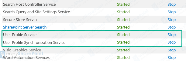 user profile synchronization service is not starting in sharepoint 2013