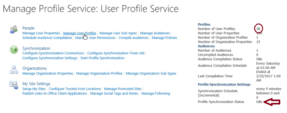 user profile service application sharepoint 2013