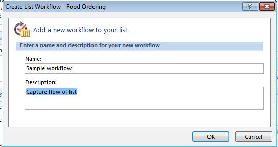 create a list workflow using SharePoint designer 2010
