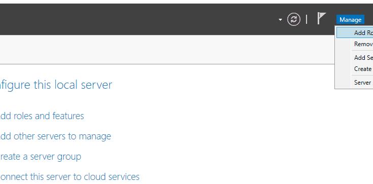 Active directory domain services windows server 2016