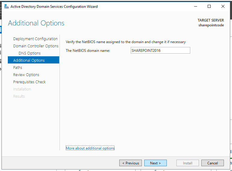 active directory domain services configuration wizard 2012 r2 step by step