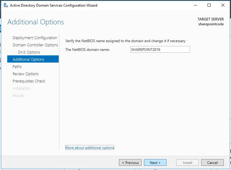 Active directory domain services windows server 2016 14