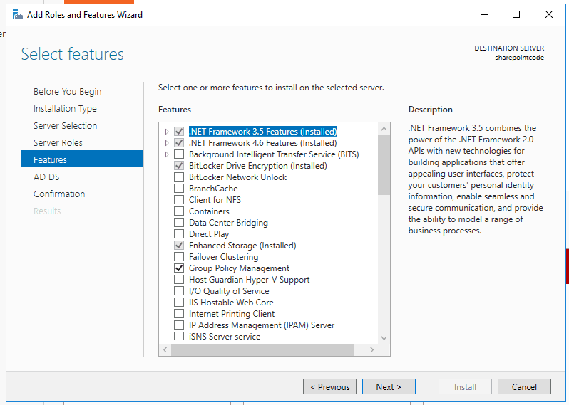Active directory domain services windows server 2016 4