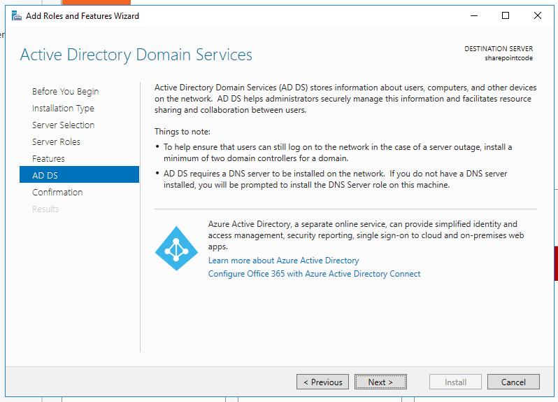Active directory domain services windows server 2016 5