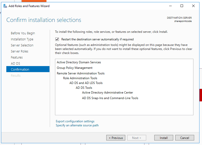 Active directory domain services windows server 2016 6