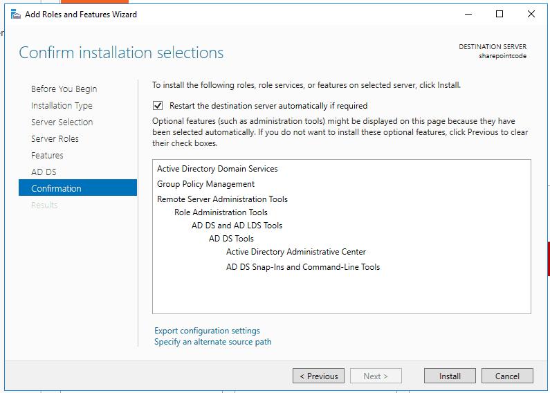 Active directory domain services windows server 2016 7
