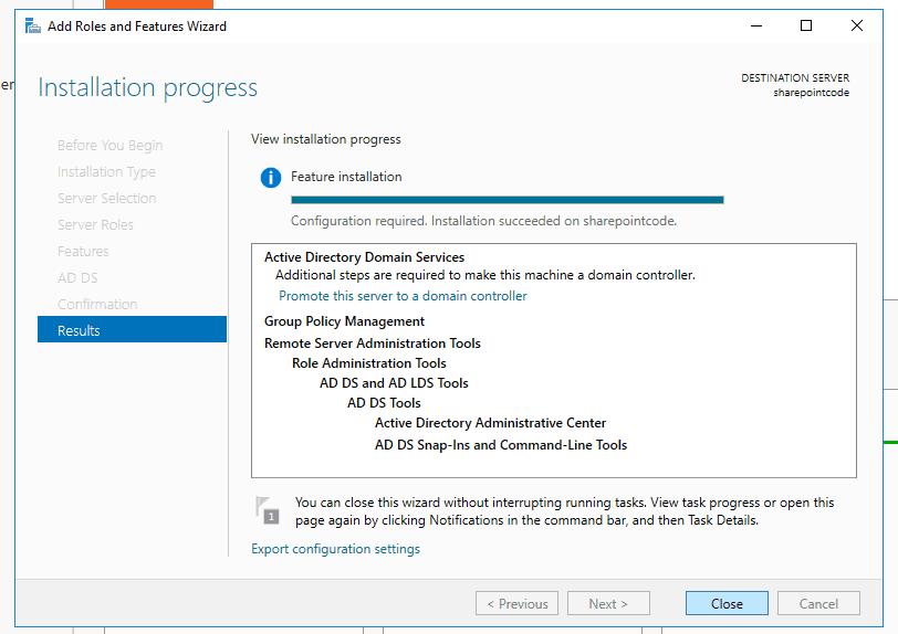 Active directory domain services windows server 2016 8