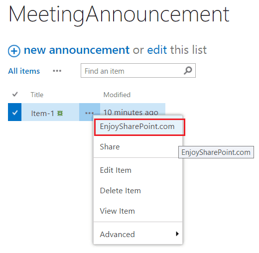 Add user custom action to SharePoint Online jsom