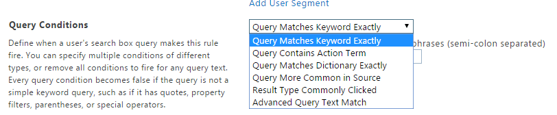 sharepoint online search query rules