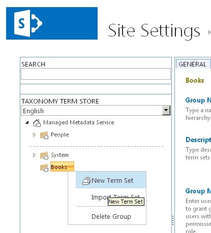 configuring managed metadata services in sharepoint 2013