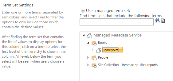 SharePoint 2016 managed metadata service application