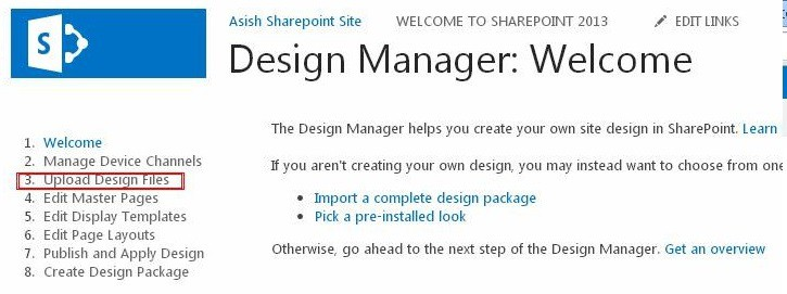 Create master page sharepoint 2016