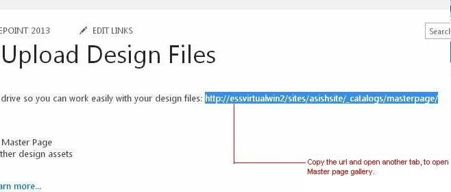 Create master page sharepoint 2019