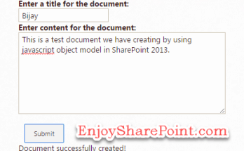 how to create file using jsom in SharePoint online