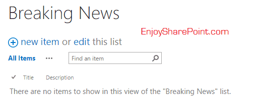 jquery news ticker sharepoint 2013