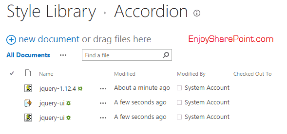 JQuery accordion sharepoint 2013 content search webpart