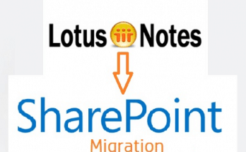 Lotus Notes to SharePoint Migration Blog