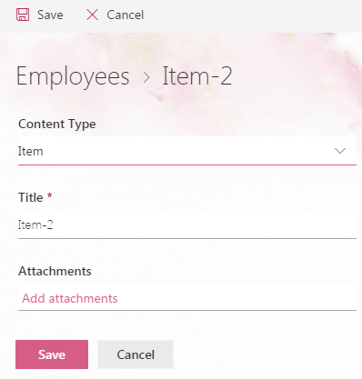 New look and feel sharepoint online list and document library