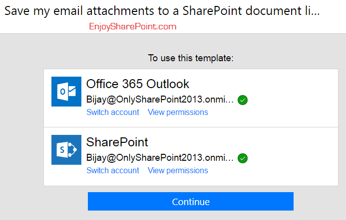 microsoft flow save email attachment to sharepoint list
