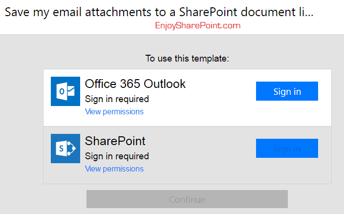 microsoft flow email attachment