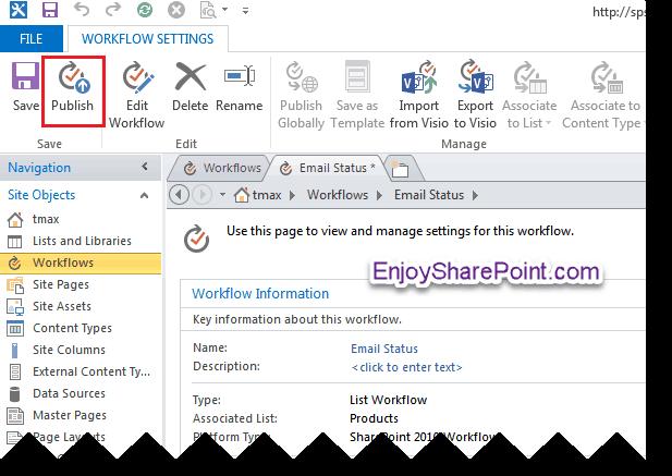 SharePoint designer online workflow examples