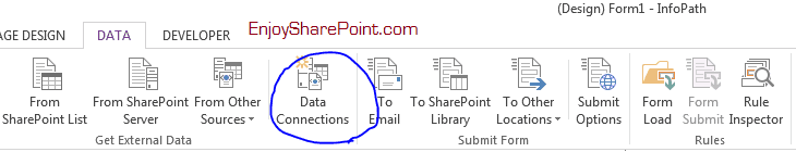 SharePoint online infopath form limitation