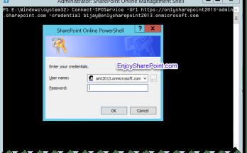 SharePoint Online PowerShell