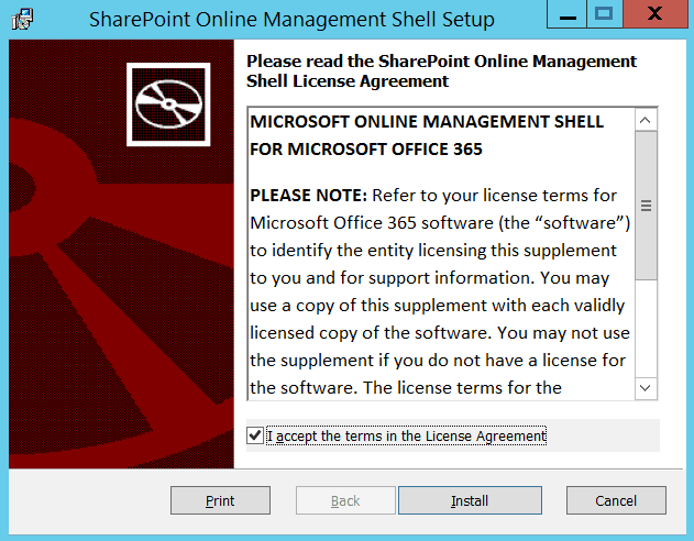 SharePoint Online Management Shell