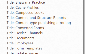 Rest API SharePoint 2013 get all lists