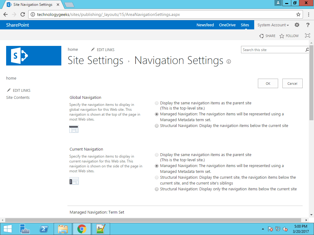 SharePoint 2013 responsive navigation menu