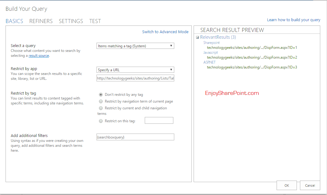 SharePoint jQuery tabs
