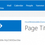retrieve host web site title in add-in web in SharePoint hosted add-in