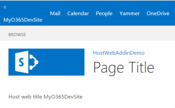 retrieve host web site title in add-in web in SharePoint hosted add-in