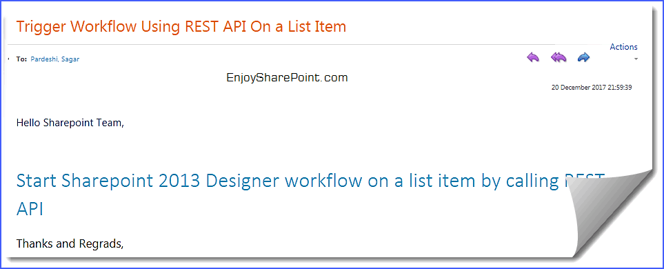 sharepoint 2013 start workflow javascript