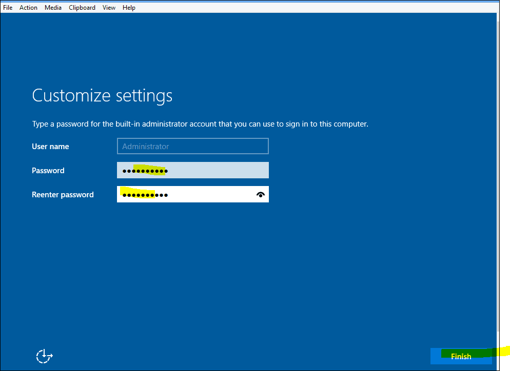 Windows Server 2016 Installation Step by Step